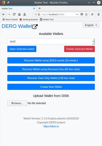 Web-wallet0